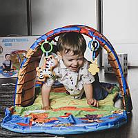 Развивающий детский коврик Домик с набором игрушек (74*40*58 см) от Meying с бесплатной доставкой