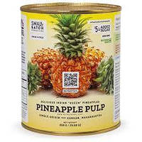 Пюре з ананасу без цукру, 850 гр.
