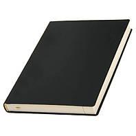 Щоденник гнучкий 'Принт ФЛЕКС' напівдатований чорний від Lediberg, Італія, під брендування на обкладинці, фото 1