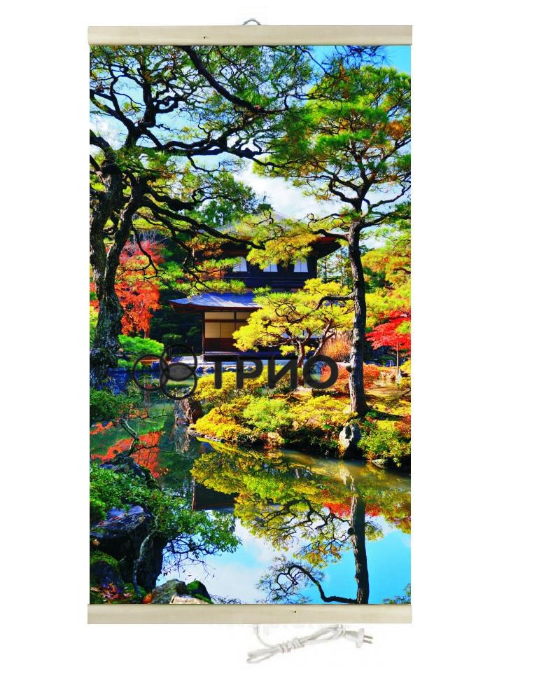 Настенный обогреватель (картина) Японский сад (сад Киото) Трио Украина