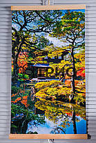 Настенный обогреватель (картина) Японский сад (сад Киото) Трио Украина, фото 2