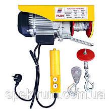 Лебедка 220 В Spektrum РА-200, электрическая, до 200 кг