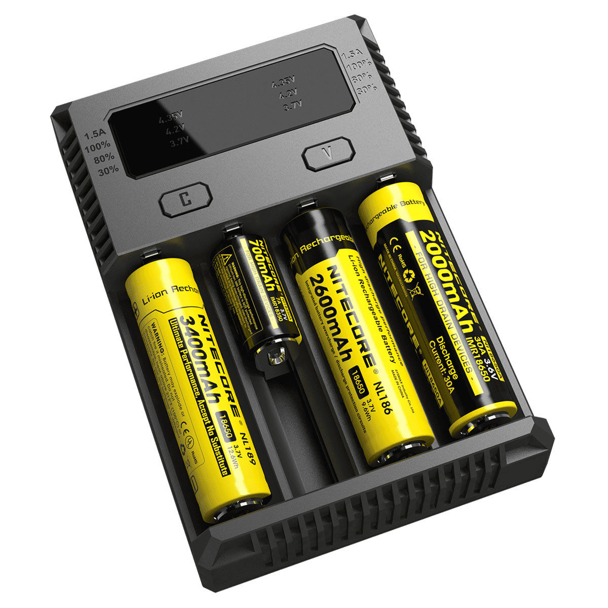 Зарядное устройство NITECORE Digicharger I4 для Li-ion/LiFePO4/Ni-MH (I4)