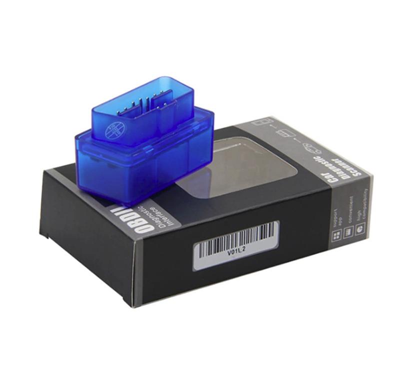 Автосканер Super Mini Bluetooth адаптер для диагностики ELM327 OBD-II (OBD2) PIC18F25K80 FW V1.5