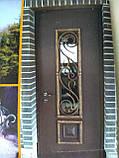 Дверь входная Мет/МДФ под заказ по индивидуальным размерам, фото 3