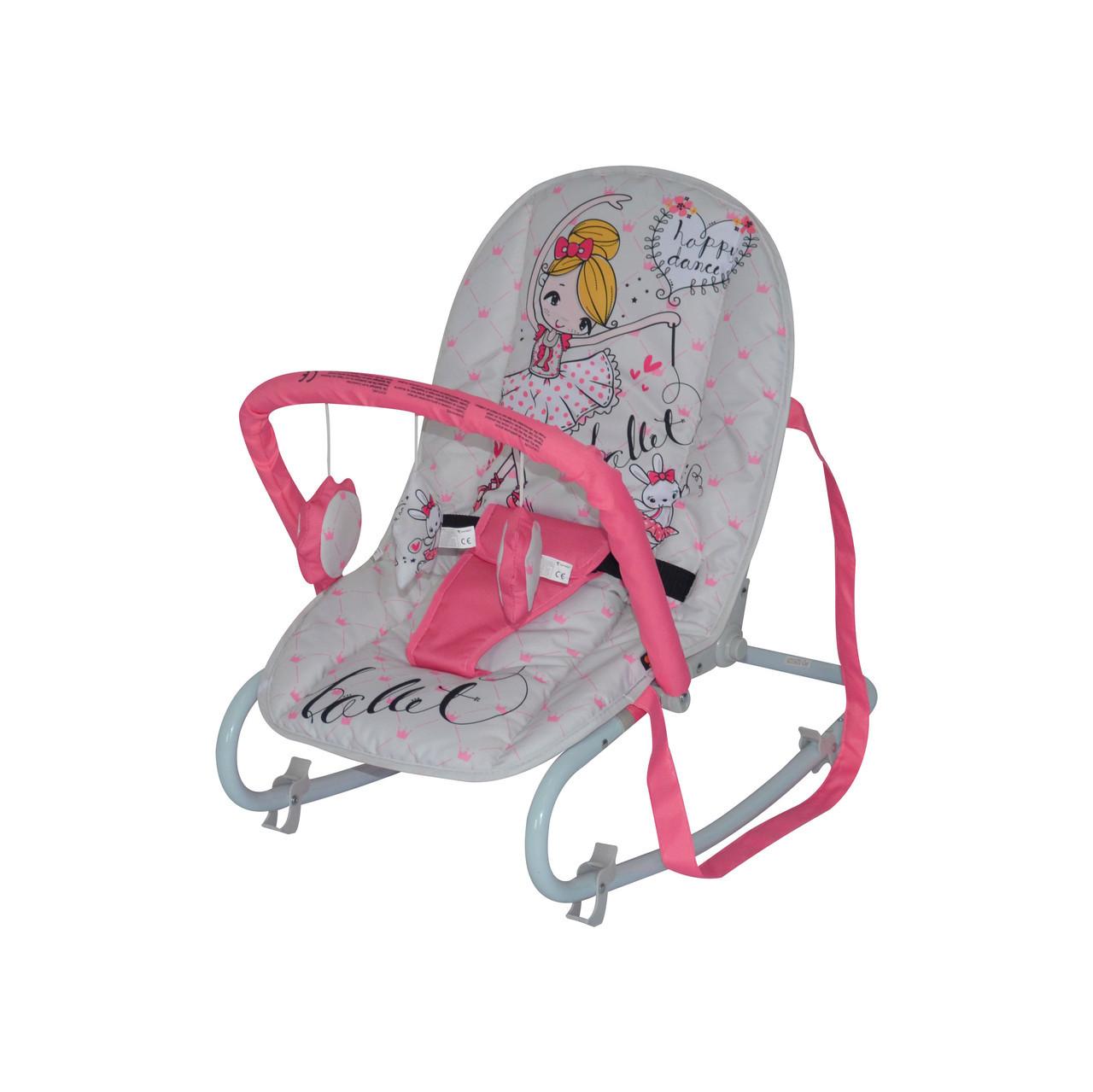 Шезлонг Lorelli Top relax pink ballet