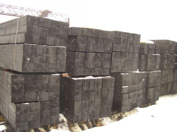 Шпала деревянная пропитанная тип IА, IIА