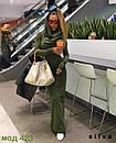 Женское длинное платье хомут теплое трехнить флис 24-70 размера, фото 4