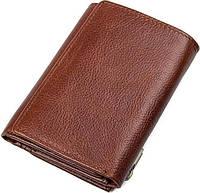 Кошелек Vintage 14511 кожаный Коричневый, Коричневый