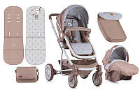 Детская коляска Lorelli S-500 set beige indian bear