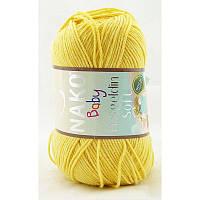 Nako Hosgeldin Soft №215 светло-желтый