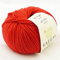 Gazzal Baby Cotton №3443 красный