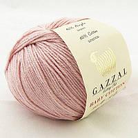 Gazzal Baby Cotton №3444 серо розовый