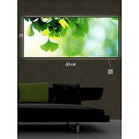 Световая картина настенная с Led-подсветкой IdeaX Зеленое настроение 29х69 см