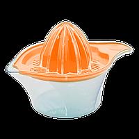 Соковыжималка для лимона New 0,25 л прозрачно-оранжевая