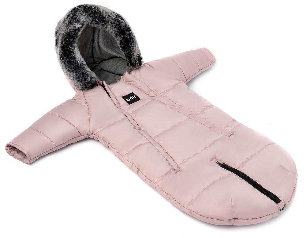 Зимний конверт Bair North premium  розовый пудра