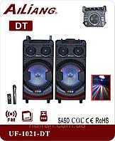 NEW ! Профессиональная колонка с диско светом Ailiang UF1021-DT 60W