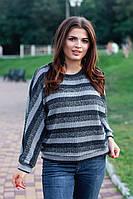 Женскиий свитерок с люриксовой нитью 48-52р.(2расцв), фото 1
