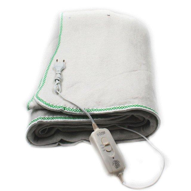Электропростынь с сумкой electric blanket 150*120