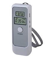 Алкотестер цифровий Luxury 6389 (таймер, термометр, будильник) / Алкотестер цифровой Luxury 6389