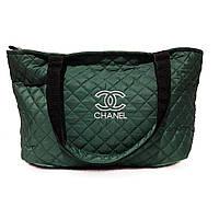 Спортивная сумка женская маленькая зеленая, фото 1