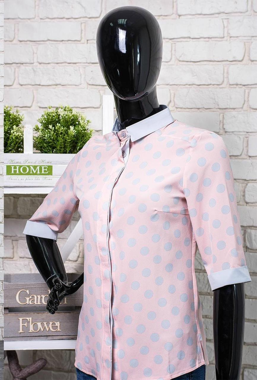 """Легкая женская блуза ткань """"Софт"""" размер 44 норма"""