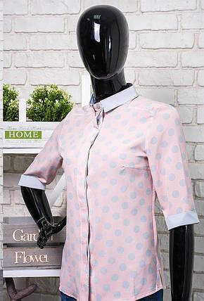 """Легкая женская блуза ткань """"Софт"""" размер 44 норма, фото 2"""