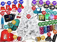 30пр. 180см Ёлка новогодняя белая искусственная (лазерный новогодний проектор,LED гирлянды,бусы,лава-лампа), фото 1
