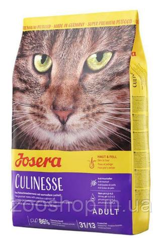Josera Culinesse сухой корм с лососем для взрослых кошек 10 кг, фото 2