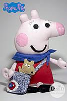 Свинка Пеппа с Тедди, фото 1