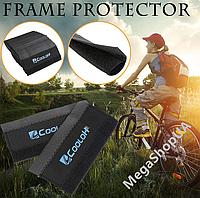 Защита пера велосипеда CooloH Черная