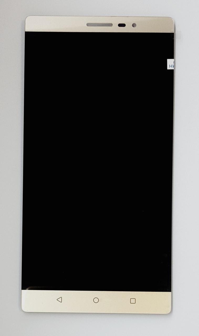 Модуль (сенсор + дисплей) для планшета Lenovo Phab PB2-650M золотой