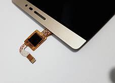 Модуль (сенсор+дисплей) для планшета Lenovo Phab PB2-650M золотий, фото 3