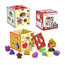 Деревянная игра Куб-Сортер
