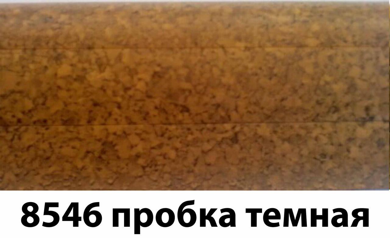 Плинтус-короб TIS 56х18 мм 2,5 м пробка темная