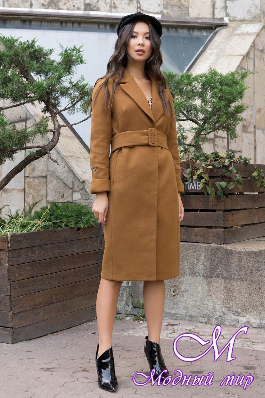 Женское демисезонное пальто удлиненное (р. S, M, L) арт. Ф-79-80/43939