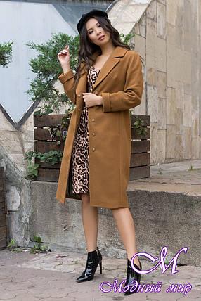 Женское демисезонное пальто удлиненное (р. S, M, L) арт. Ф-79-80/43939, фото 2
