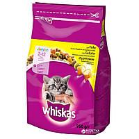 Корм для котів Whiskas Сухой корм для котят с курицей 950 г