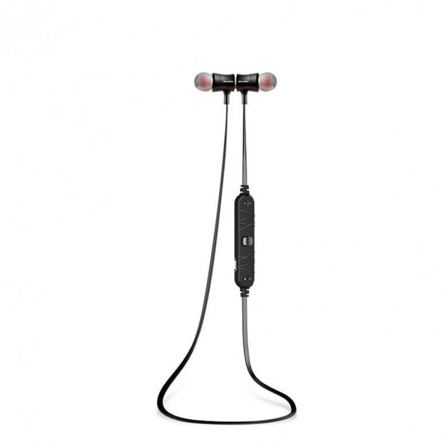 Bluetooth наушники беспроводные гарнитура Awei A921BL Черный