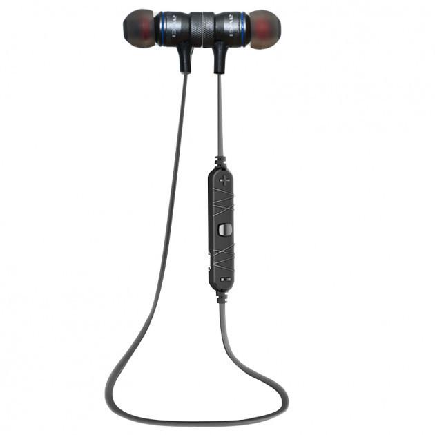 Bluetooth наушники беспроводные гарнитура Awei A920BL Черный