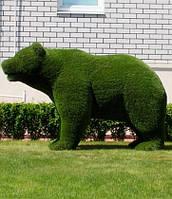 Мишка топиари фигура из искусственной травы «Медведь»