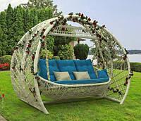 Качеля садовая из ротанга «Мароу»