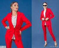 Классический однотонный женский пиджак 5714