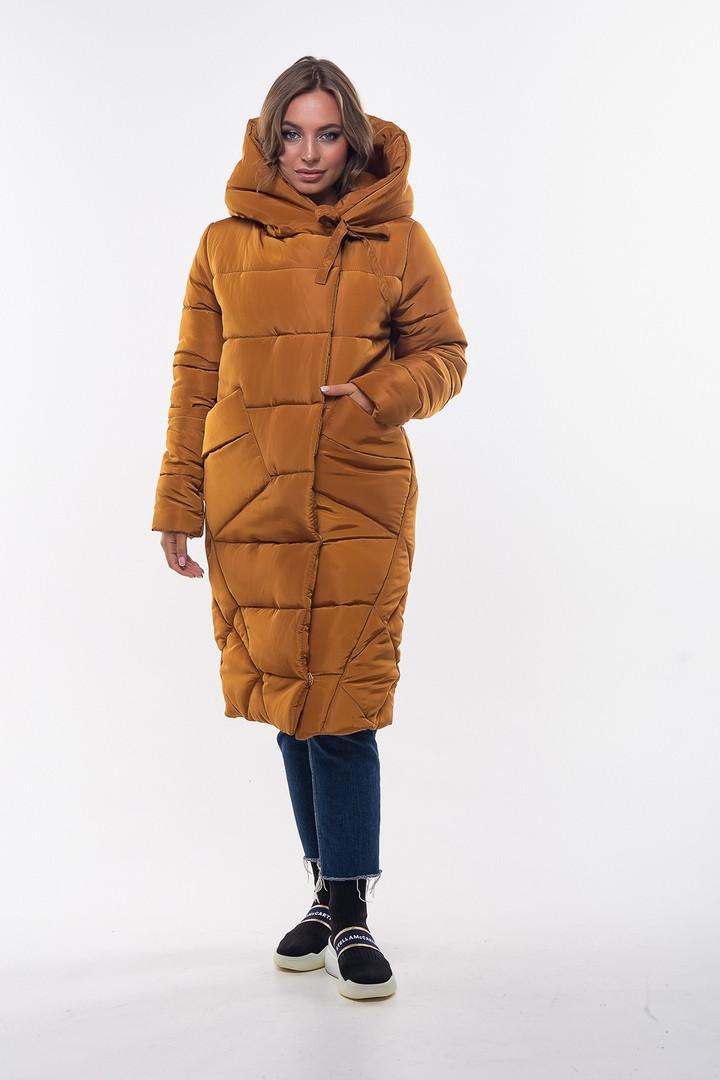Модная женская куртка-одеяло с капюшоном