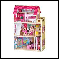 Дитячий котедж від ECOTOYS /Детский игровой домик котедж от Экотойс, 90х60х30 см, фото 1