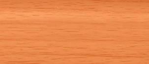 Плинтус-короб TIS 56х18 мм 2,5 м вишня, фото 2