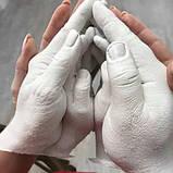 Набір Зліпок для створення скульптур 2D долоні на магніті Зліпок 2Д Slepok до 8 років, фото 9