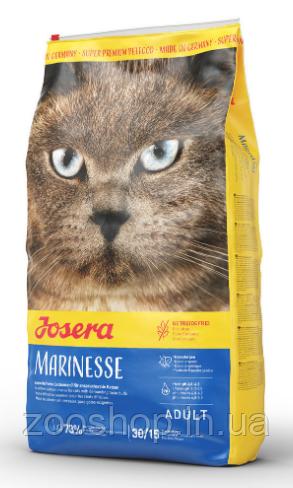 Josera Marinesse гипоалергенный корм для взрослых котов 10 кг