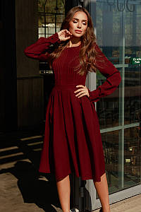 Женское платье Марсала