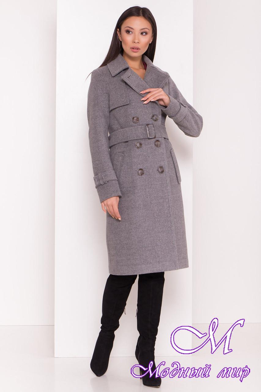 Осеннее женское пальто удлиненное (р. S, M, L) арт. М-80-87/44029